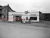 (04.19.1953) Mobil gas station along Mount Carmel Street at Commerce. (Now Pool World.)