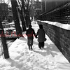 (03.29.1956) Lovers in the snow.