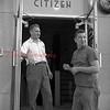 (1956, April through July) Guys at the Shamokin Citizen.