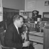 (1959) Amateur radio man.