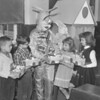 (1961) Easter bunny at school.