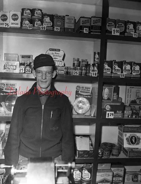 (Feb. 1951) Auto guy.