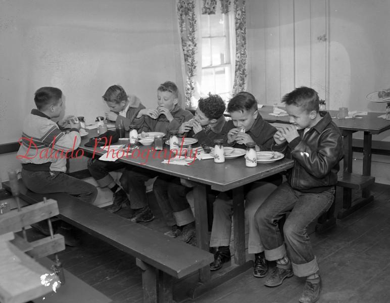 (Feb. 1951) Unknown school.