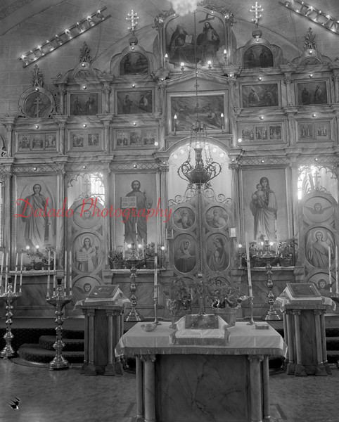 (Jan. 1951) Unknown church.