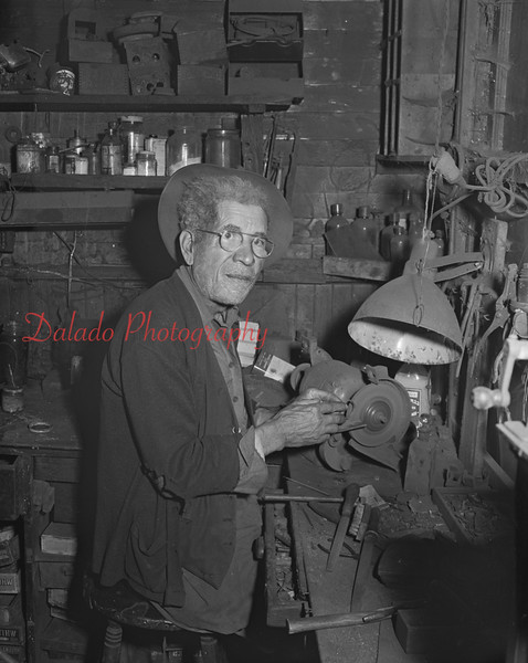 (May 1951) Old worker.