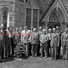 (1949 or 1950) Church group with new tree.