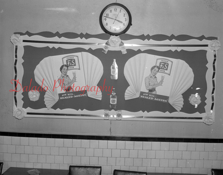 (Feb. 1951) F&S display.