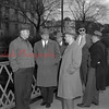 (03.27.1952) Politicians on Market Street bridge.