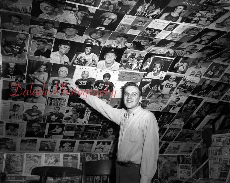 (1954) Sports fan.