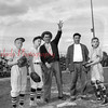 (May 1954) Youth baseball.