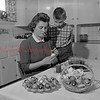 (May 1954) Pysanky egg making.