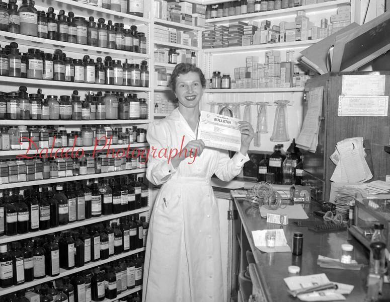 (Dec. 1954) Unknown pharmacy.