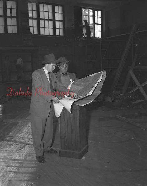 (April 1954) Unknown construction.