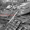(Oct. 1954) Damage at High and Gold streets from Hurricane Hazel.