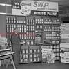 (July 1954) Paint store.