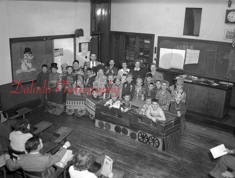 (Dec. 1954) School program, unknown.