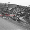 (Oct. 1954) Damage in Burnside from Hurricane Hazel.