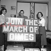(Dec. 1954) March of Dimes campaign at the John Laughlin Center.