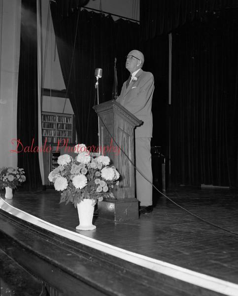 (Oct. 1954) Unknown program at Shamokin.