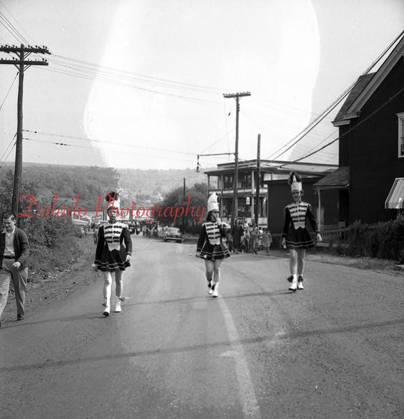 (1956) Memorial Day parade in Mount Carmel.