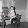 (11.25.1956) Three-year-old Dolores Supsic, daughter of Mr. and Mrs. Edward Supsic, afflicted with polio in Sept. 1954.
