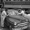 (Oct. 1956) Car washing.