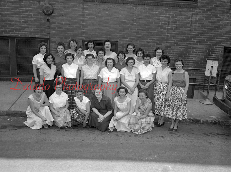 (06.06.57) Members of Local 185 ILGWU employees of the Shamokin Dress Co.