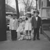 (April 1957) Cute kids.