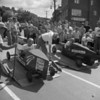 (1957) Soap Box Derby on Market Street in Shamokin.