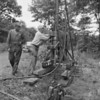 (1957) Fred Koscielnik and James Moran use a driller looking for strats.