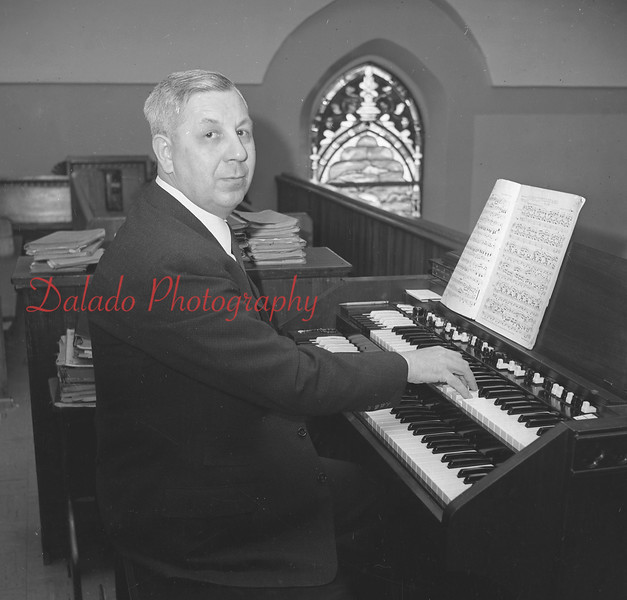 (01.31.57) Joseph Oravitz, of 826 Hemlock St., an organist at St. Mary's Church for 25 years.