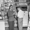 (July 1957) Drug store.