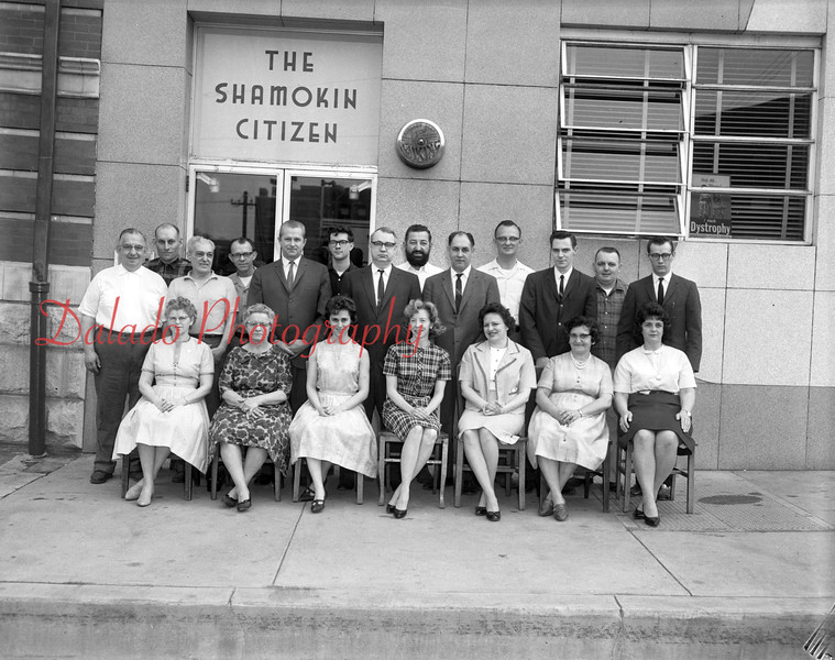 (1964) Shamokin Citizen.