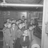 (1960) Boy Scouts from Troop 252 visit the Shamokin Citizen.