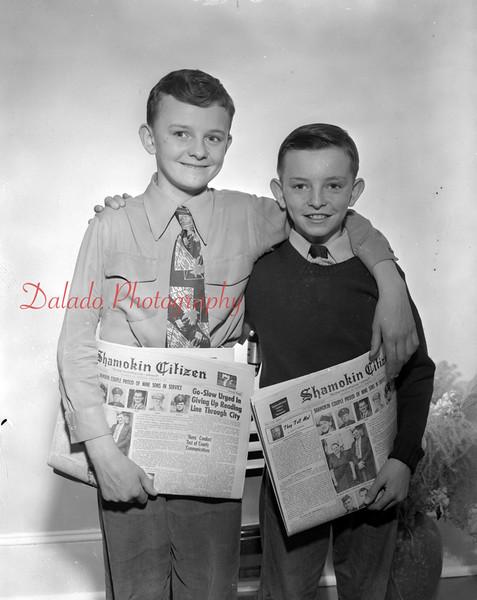 (Feb. 1951) Shamokin Citizen carriers.