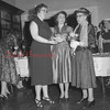 (05.05.1955) Rev. Josephine Richards was named Woman of the Year. Shown at center is Margaret Broadhead and Margaret Winter.