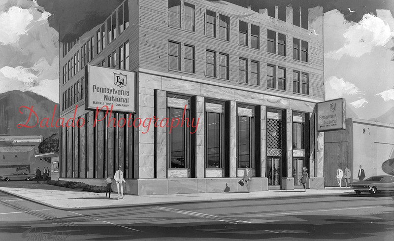 Pa. National Bank rendering.