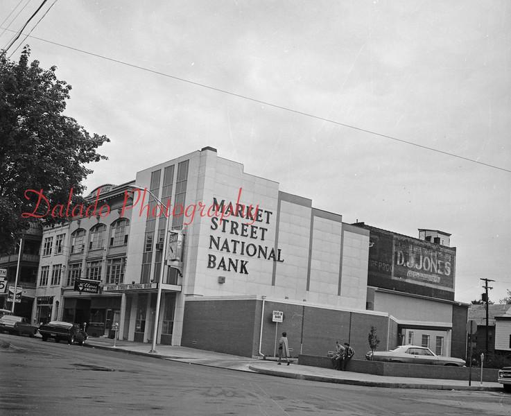 Market Street National Bank along Market Street.