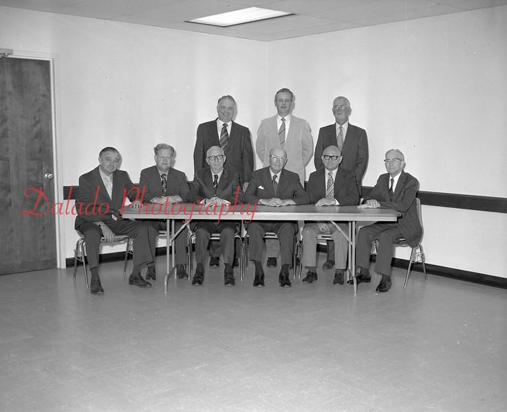 (July 1973) Central Pa. Savings board members.