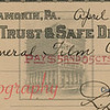 Dime Trust and Safe Deposit Co., Shamokin.