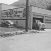 (06.24.54) Dornbach Garage, shown is Earl and Vernon.