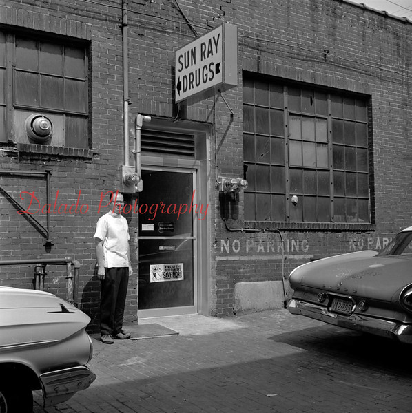 (1964) Dave Donmoyer and Sun Ray Drugs.