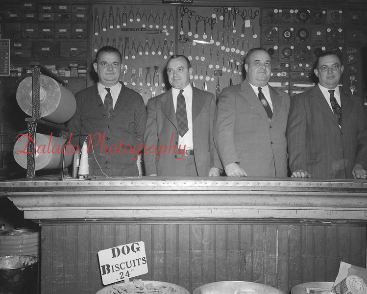 (1950 or 51) Jones Hardware officials.