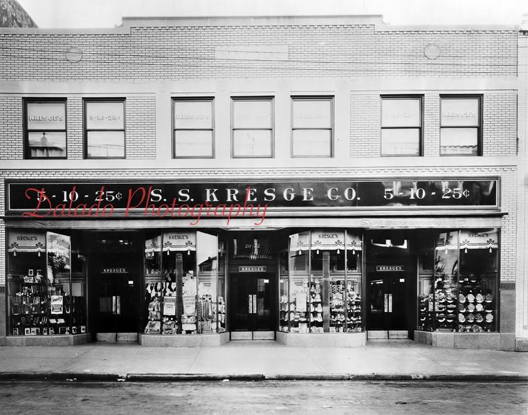S.S. Kresge Co. along Independence Street.