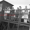 (07.17.52) Observers at the local station atop the American Legion building in Shamokin. Pictured are, from left, A. Conway, John Kelly, Paul Lyons, Edward Mack and Joseph Whalen, S.F. Olcese observer.