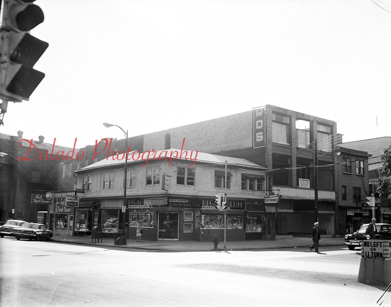 (1964) Independence and Market streets.
