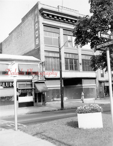 Here are the buildings again, this time after Montgomery Ward closed.