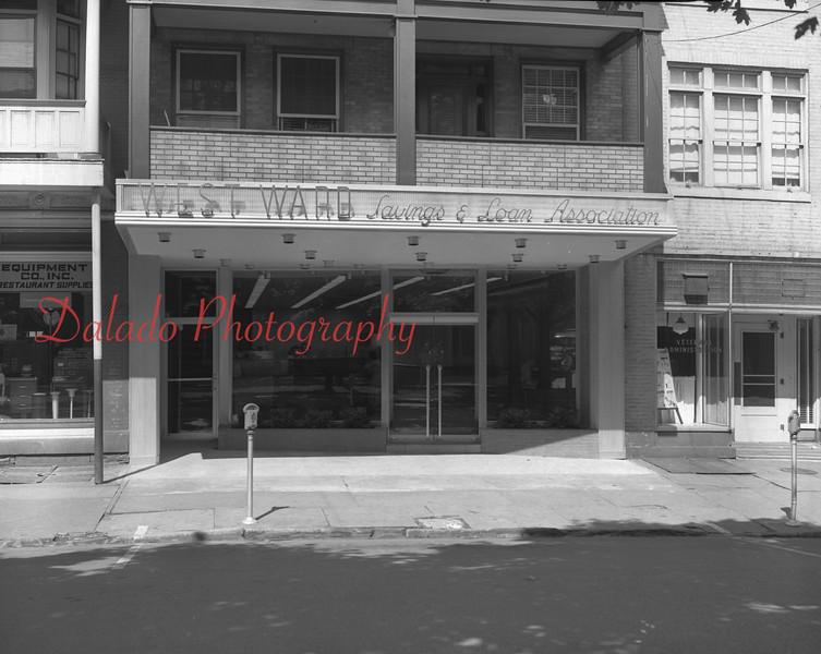 (July 1957) West Ward Savings and Loan Association.