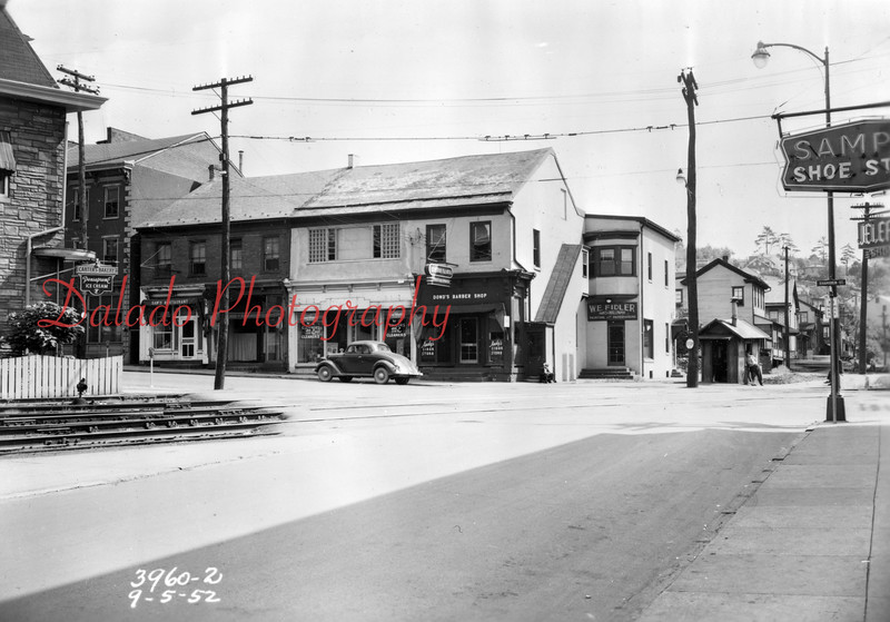 (1952) Independence and Shamokin streets.