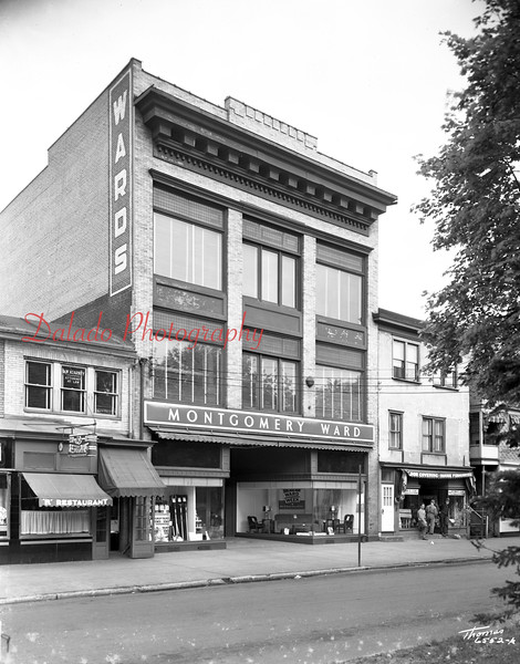 Montgomery Ward along Market Street.